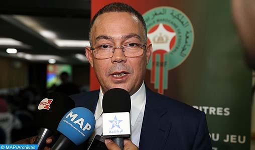 CAF: Fouzi Lekjaa devient 2ème vice-président de la Confédération